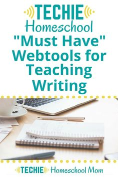 """The """"how to""""s of writing have changed with the development of technology. And homeschooling moms need to change the way to teach writing to your children. Using these 4 digital tools makes the writing process more efficient and prepares your children for Writing Curriculum, Teaching Writing, Homeschool Curriculum, Homeschooling, Apps For Teaching, Creative Teaching, Activities For Autistic Children, Homeschool High School, Videos"""