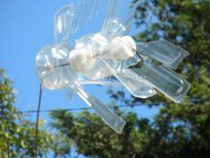 re-use plastic bottles   windmills