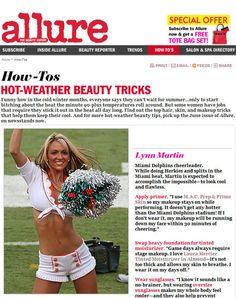 Beauty/Fitness Allure Magazine