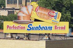 Sunbeam Bread sign, Fort Wayne (Photo: Stephen L. Parke)