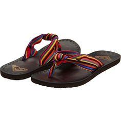 multi-color flip flops