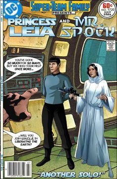 Super-Team Family: The Lost Issues!: Princess Leia and Mr. Dc Comics, Comic Book Characters, Comic Books Art, Caricature, Crossover, Film D'animation, Great Team, Marvel Vs, Comic Book Covers