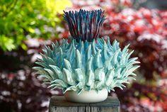 Thistle - stoneware Frances Doherty Ceramic Sculpture