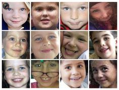 Remembering The Newtown Shooting Victims. Handout photo of 12 of 20 young schoolchildren killed at Sandy Hook Elementary School in Newtown, Connecticut. HANDOUT/REUTERS    When will we learn?