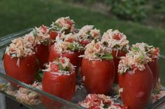 Stuffed Baked Tomato Rice