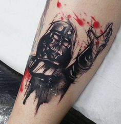 Dark vader star wars tattoo