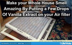 Cleaning - Easy way to Make your House Smell Amazing