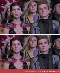 Katniss and Peeta faceswap