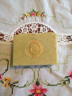 Lavender Soap with Organic Yarrow Herb by eleneetha on Etsy, $6.00
