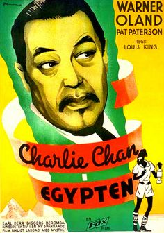 Charlie Chan in Egypt is the eighth 20th Century Fox Charlie Chan film starring Warner Oland in the title role. It was released in 1935.