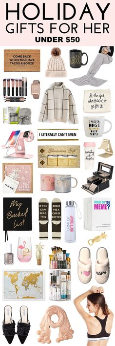 holiday gifts for her under 50 gifts under 50 amazon gift ideas best friend gift ideas sister gift ideas