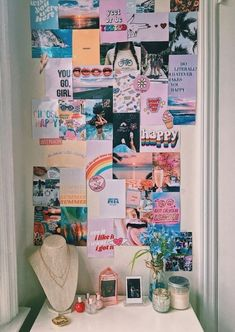 Wall Collage Decor, Bedroom Wall Collage, Cute Room Ideas, Cute Room Decor, College Room, Dorm Room, Dorm Walls, Room Goals, Room Ideas Bedroom