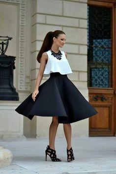 Super-Hot Date-Night Outfit Ideas – Fashion Style Magazine - Page 2 The Dress, Dress Skirt, Fashion Mag, Womens Fashion, White Fashion, Fashion Bloggers, Cocktail Outfit, Night Outfits, Outfit Night