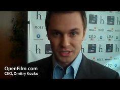 CEO Dmitri Kozko tells Karen Worden about OpenFilm.com at the HollyShorts Film Festival 2010.