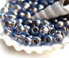 TOHO Seed beads 6/0 Gold-Lined Lt Montana