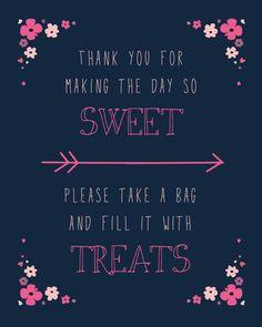 Frases y pizarras para complementar tus mesa dulces. #IdeasMesasDulces
