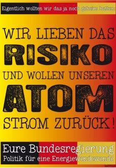 der letzte atomschrecken ist ausgesessen und die zeit ist wieder reif für eine offensive der kohle- und atomlobby.