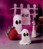 Halloween Ghosts Free Pattern