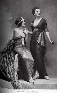 Evening Gowns by Lucile, 1913