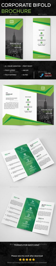 Corporate TriFold Brochure  Tri Fold Brochure Tri Fold Brochure