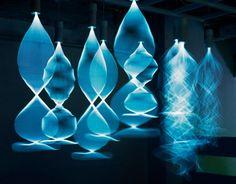 Выставка в Шанхае 2012 Аромат света The scent of light световые инсталляции