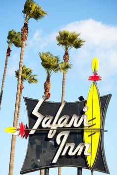 Safari Inn, Burbank, California. A lot of movies and TV shows have been shot at the Safari on Olive Blvd.