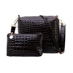 $9.60 (Buy here: https://alitems.com/g/1e8d114494ebda23ff8b16525dc3e8/?i=5&ulp=https%3A%2F%2Fwww.aliexpress.com%2Fitem%2F2PCS-Women-Bag-2016-New-Fashion-Bag-women-Handbag-Fashion-Handbag-Messenger-Shoulder-Bag-Crocodile-PU%2F32649890110.html ) 2PCS Women Bag 2017 New Fashion  women Handbag Fashion  Messenger Shoulder Bag Crocodile PU Leather bags OL bag  WB082 for just $9.60
