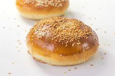 Hamburgerové žemle Russian Recipes, Food And Drink, Burgers, Instant Pot, Breads, Beverages, Polish, Europe, Bar