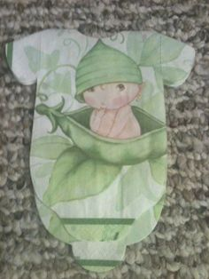 Little sweet pea baby shower onesie napkins or banner  $26.00
