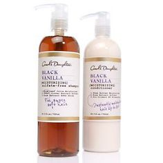 Carol's Daughter products. Wonderful shampoo and conditioner. This size would last a long time!  Her products last really well.
