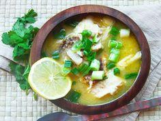 Peruvian Soup - How to make Fish Soup Peruvian Style | QueRicaVida.com