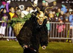 Perchten Festival in Austria: Photos