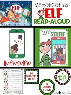 Your students will LOVE these Memoirs of an Elf activities.