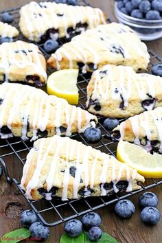 Valya's Taste of Home – A food blog with so many easy, tested, and family approved recipes with step-by-step photo cooking instructions and video recipes. Brunch Recipes, Breakfast Recipes, Dessert Recipes, Breakfast Ideas, Cupcake Recipes, Pie Recipes, Dessert Ideas, Lemon Blueberry Muffins, Blue Berry Muffins