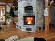 Beautiful Masonry Heater -- Maine Wood Heat Co.