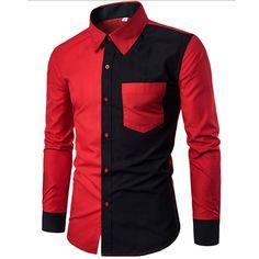 Effen Rood Overhemd Heren.15 Beste Afbeeldingen Van Italiaanse Overhemden Heren Italian