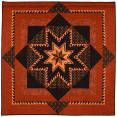Intermediate Quilts, 1st Place: Feather Quest by Loretta Orsborn. 2013 Northwest Quilting Expo.