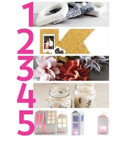 5 DIYs para intentar este fin de semana   Cosas Molonas   Blog de Inspiración & DIY  