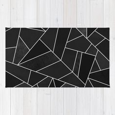#society6 #rug #home #decor #black