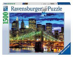 Ravensburger Skyline New York City Puzzle - 1500 Pieces : Target Ravensburger Puzzle, Downtown New York, New York City, City Puzzle, Lower Manhattan, School Holidays, The World's Greatest, Family Activities, Yorkie