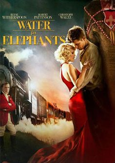 Water for Elephants. One of the most amazing movies I've ever seen, based on an equally amazing book. Think 1920s circus with Robert Pattinson.