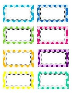7 Best Images of Polka Dot Label Templates Printable - Free Printable Polka Dot Editable Labels, Polka Dot Labels Free Printable Name Tags and Free Polka Dot Circle Printables Polka Dot Classroom, Classroom Labels, Classroom Organisation, School Organization, Classroom Themes, Classroom Signs, Polka Dot Labels, Polka Dots, Printable Labels