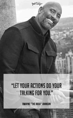 25 Most Inspirational Quotes From Dwayne 'The Rock' Johnson - Who Is Dwayne 'The Rock' Johnson? 25 Best Quotes From 'The Rock' To Motivate And Inspire Yo - Dwayne Johnson Quotes, The Rock Dwayne Johnson, Rock Johnson, Dwayne The Rock, Rock Quotes, Wisdom Quotes, Quotes To Live By, Life Quotes, Reality Quotes
