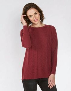 Charlotte Cable Jumper, Knitwear | FatFace.com