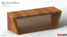 The Executive Table: The Big Wood Boss executive table is a strong and durable and natural looking object for office spaces of all kinds
