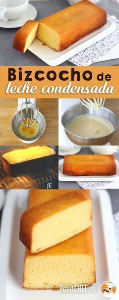 A cake of the easiest, simple, spongy and delicious, with all the flavor of condensed milk. To enjoy a sweet break at any time of the day :] milk cake pops cake cake desserts desserts dulces en vaso faciles gourmet navidad Mexican Food Recipes, Sweet Recipes, Cake Recipes, Dessert Recipes, Indian Recipes, Fish Recipes, Pan Dulce, Condensed Milk Cake, Tasty