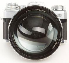 Carl Zeiss Super Q Gigantar 40mm f/0.33: The Fastest Lens Ever Made? lensfront