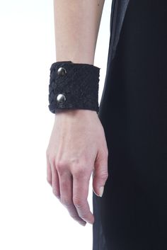 Rosée $133  #bracelet #leather #fishleather #leatherbracelet #jewelry #fashion