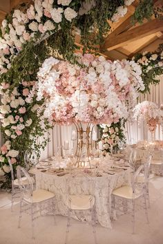 19 Elaborate Wedding Tablescapes To Make You Swoon | OneFabDay.com Ireland