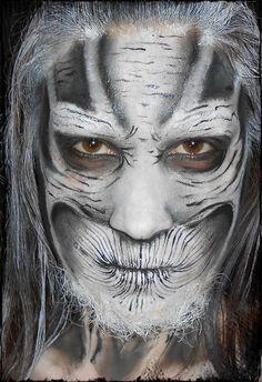 white walker makeup - Google Search